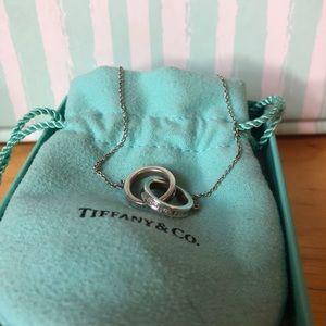 Tiffany & Co 1837 Interlocking necklace